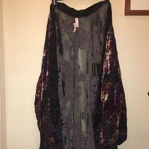 Lane Bryant long kimono